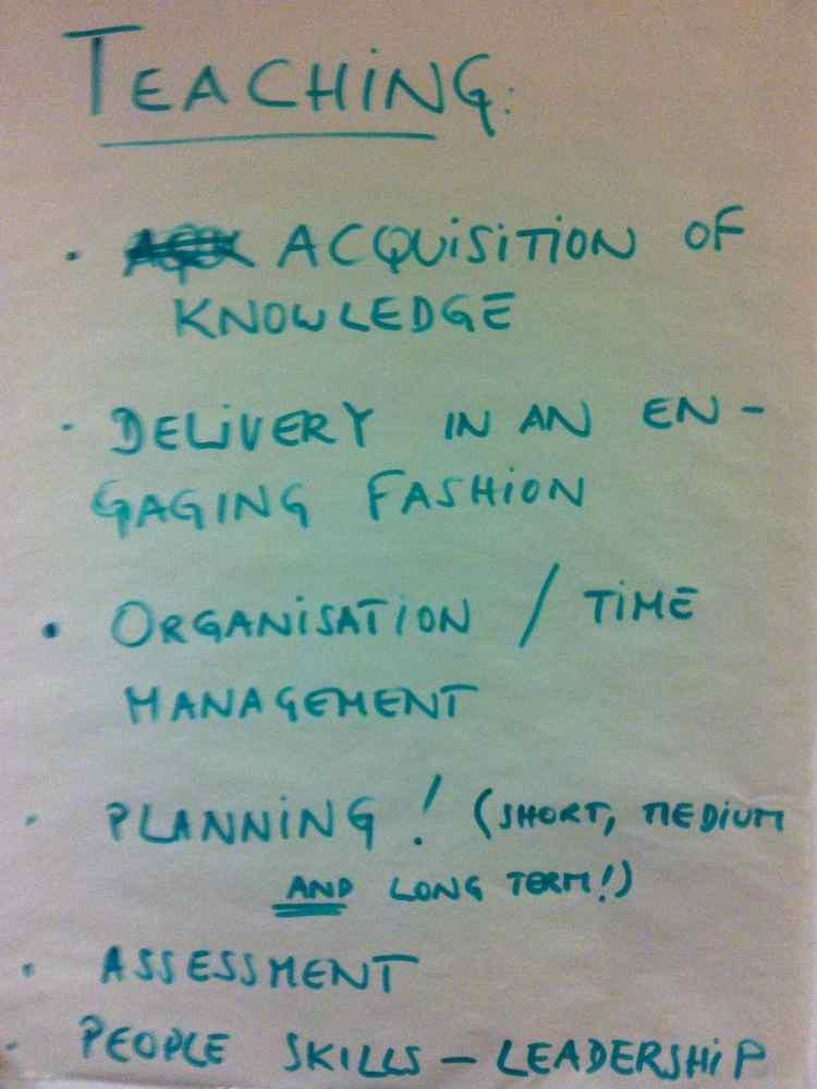 Skills 4. Teaching Skills