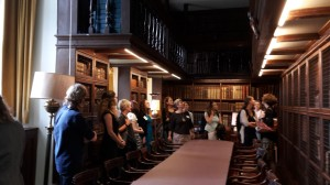 Tour of the Old Library, St Edmund Hall